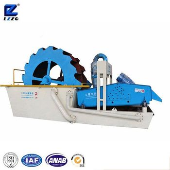 double wheel crushed sand processing machine for sale