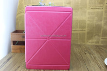 Folding Transformer Origami PU Leather Case Smart Cover Stand for ipad air case