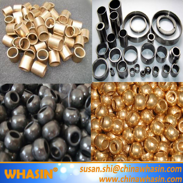 Rocker arm bush brass bronze bushing casquilho auto lubrificantes self-lubricating bushing