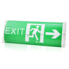 LED fire safety exit signs emergency warning light