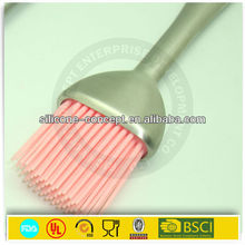 stainless steel kitchenware silicone brush in bbq tools