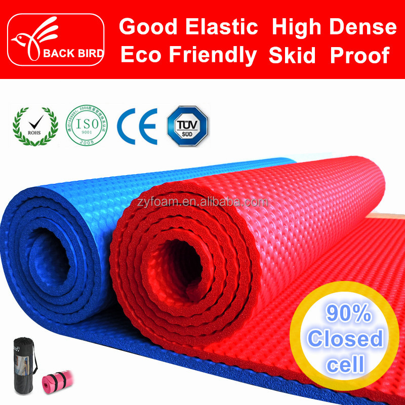 2016 new product Washable soft fitness eco friendly yoga mat