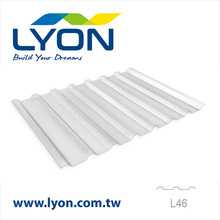 Polycarbonate Embossed Corrugated Sheet L46
