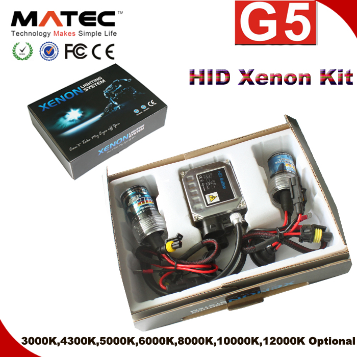 popular sales kit xenon hid 4300k 6000k h4 h7 h11b hid xenon light