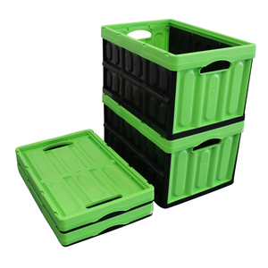 plastic folding storage boxes,plastic mesh containers,collapsible plastic bins