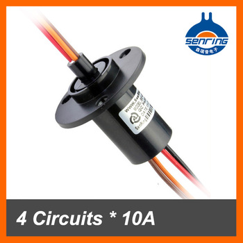 10A 4 cables wind generator slip ring for compact wind turbines