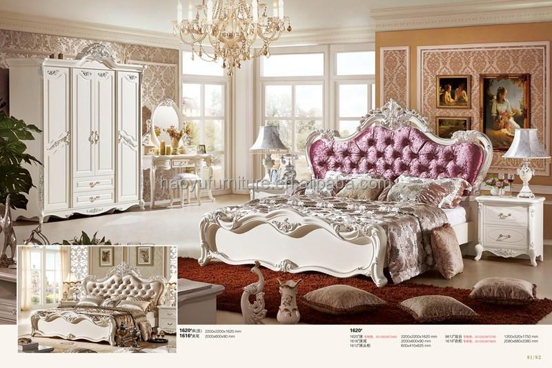 Antiken Luxus Europäischen Barock Bett französisch stil ...