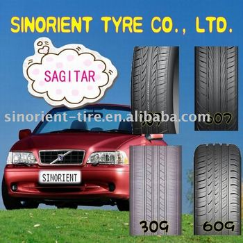 Sagitar brand car tyre