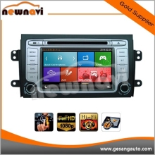 8 inch touch screen wince 6.0 entertainment system car dvd player for SUZUKI SX4 2006- with Radio,GPS,Bluetooth,3D UI