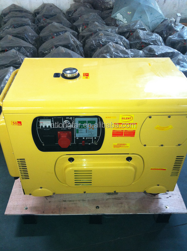 12kva one/three phase generator set,air cooled diesel generator,open/silent type portable diesel generators