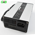 Automatic 48V 3A li-ion battery charger for ebike battery and electric scooter battery 36v 48v power supply with aluminum case