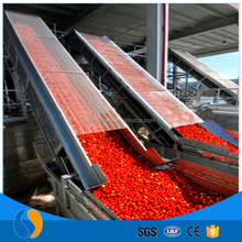 Aseptic tomato paste 36-38 brix in drums production line
