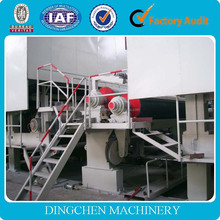 Dingchen HOT SALE 2400mm bagasse kraft/corrugated/fluting /paper plate making machine,bamboo plate for sale