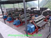 high efficient gas genset gas generator