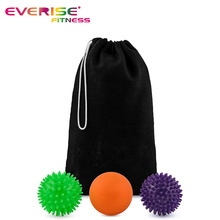 Factory Price Foot Spikey Yoga Massage Balls Physical Therapy
