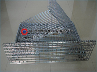 High quality Fodable galvanized best-selling demountable Stackable Wire Cage
