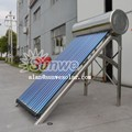 Stainless steel solar water heater pressurized PT valve Heat pipe vacuum tube