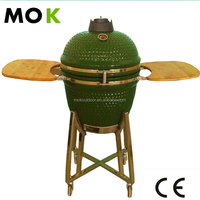 Ceramic chicken bbq grill machine clay kamado