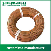 UL 2468 flat ribbon PVC insulation electrical wire and cable