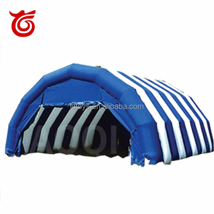 large custom sport warehouse storage inflatable dome tent