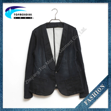 Top quality denim jacket fashion jean jacket women