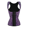 2016 high quality latex fitness waist reducing body shaping corset latex waist cincher vest