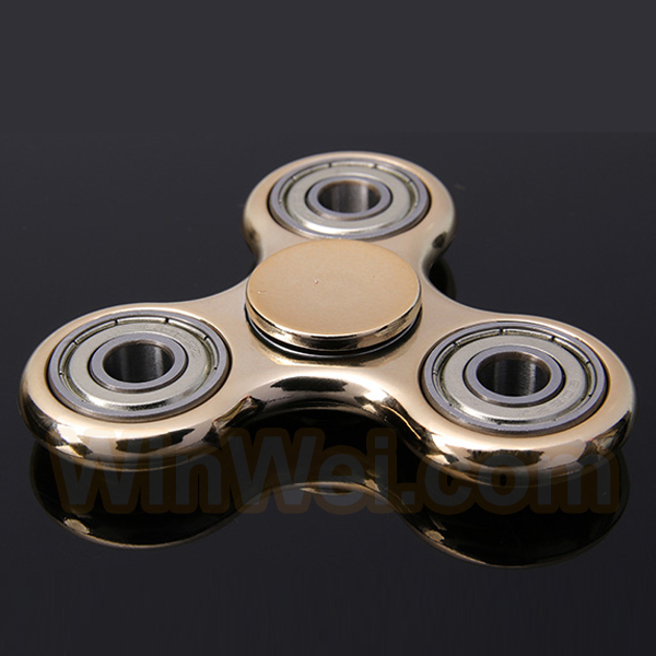 Metal Ball bearing Focus hand fidget spinner toy