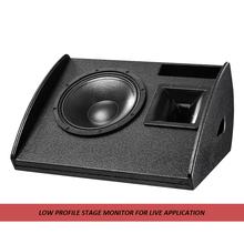 Professional 15 inch Passive Stage Coaxial Monitor Passive Full Range Monitor Audio Speakers CU-15