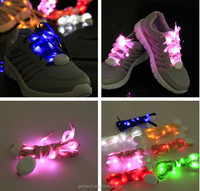 LED 2015 New style LED flashing Light up electric shoelace for party