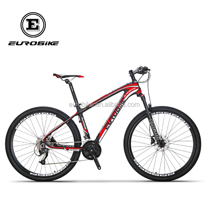 Eurobike CB650 Hot sales 27 Speed Carbon Fiber 27.5 Inches Wheel Bicycle Disc Brake Oil Spring Fork Mountain <strong>Bike</strong>