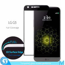 Mobile Phone Use 3D Full Cover Screen Protector for LG G5