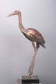 Handcrafted metal bird sculpture metal art flamingo sculpture