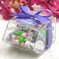 fashionable small acrylic packaging boxes with lid
