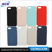 Free sample waterproof mobile phone shell manufacturer custom for iphone 6 6s 7 silicone case cover