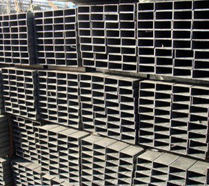 SS400 Hot finished mild steel hollow section rectangular steel box section (Q235 Q345 Q195 S235JR S355JR ST37-2 ST52 S275JR)