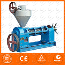 cold pressed and hot pressed Screw Oil Press