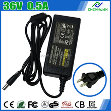 Fiber Optic Christmas Tree Power Supply 36V 0.5A DC Adapter With CE KC
