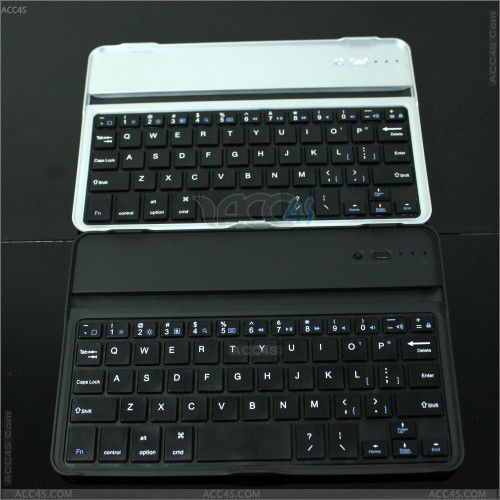 Ultra-thin Wireless Aluminum Alloy Bluetooth Keyboard for iPad Mini P-iPDMINIBTHKB015