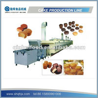 Complete Full Automatic Cake Making Machine Production line