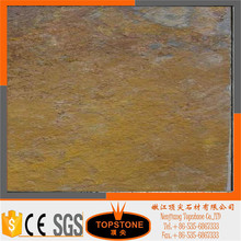 Rust autumn rose slate staggered joint vertical seams wall corner