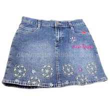 CJ-111 2014 high quality cheap price denim skirts hot sell women light color fashion design sale well denim skirt