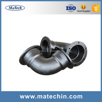 Custom Made Iron Casting Irrigation Rotating Pipe Fittings