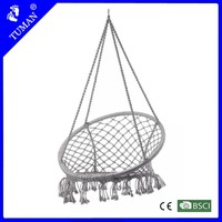 Garden Furniture Swing Rope Round Chair Hammock