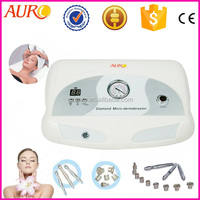 L: (Au-3012) Professional microdermabrasion facial diamond head micro dermabrasion machine for skin rejuvenation