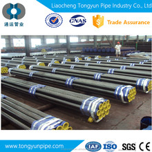 Ms Seamless Steel Pipe with higher quality and black paint