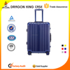 Professional ABS+PC trolley luggager with aluminium frame travel trolley luggage