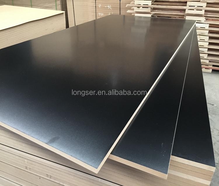 Black melamine laminated mdf board buy
