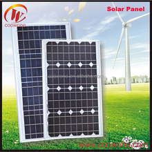 China High Efficiency Flexible 120W 300W Solar Panel Pallets