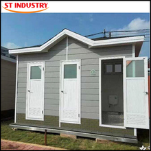 Pre-made fabrication toilet container house finished