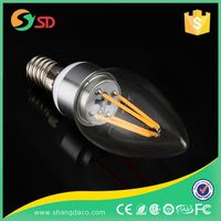 New Led Lamp 110V 120V Dimmable CE Rohs Electric Candle Light Bulb